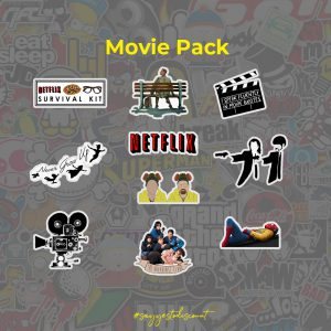 Movie Stickers Pack
