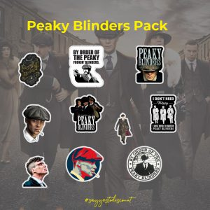 Peaky Blinders Stickers Pack