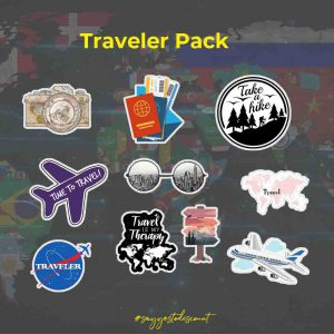 Traveler Stickers Pack