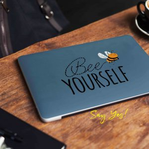Bee Yourself Laptop Skin