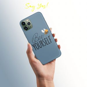 Bee Yourself Mobile Cover