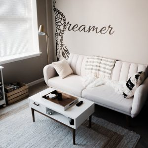 Dreamer Feather Wall Decal