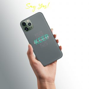 Keep Blooming Mobile Cover