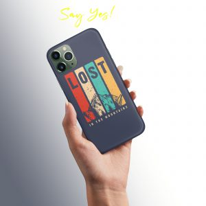 Lost into Mountains Mobile Cover