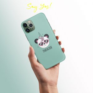 Panda Unicorn Mobile Cover