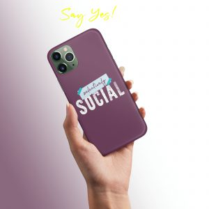 Selectively Social Mobile Cover