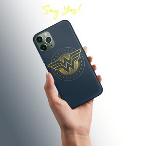 Wonder Woman Mobile Cover