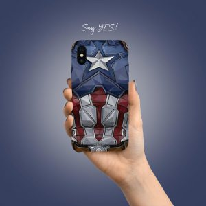 Captain America Mobile Cover