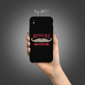 Moustache Rules Mobile Cover