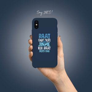 Baat hoti hai Mobile Cover