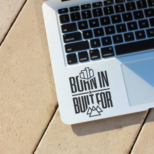 Built for Mountains Laptop Decal