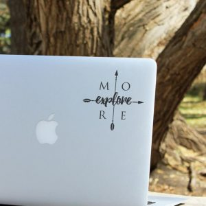 Explore More Laptop Decal