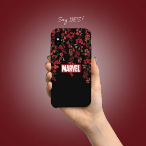 Marvel Red Mobile Cover