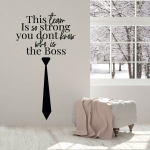 Strong Team Office Wall Decal