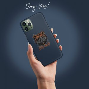 Stay Away Mobile Cover