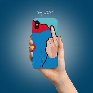 Superman Funny Mobile Cover