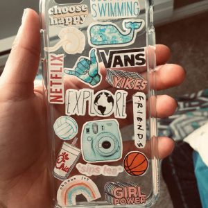 Sticker Bombing Mobile Cover