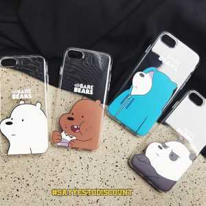 The Bare Bears Mobile Cover