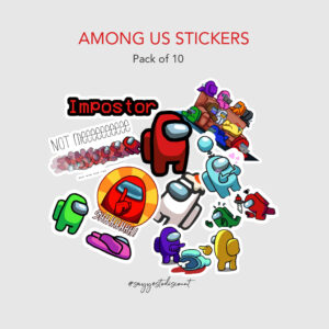 Among Us Stickers Pack