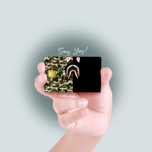 Camo Bape Design Debit/Credit Card Skin
