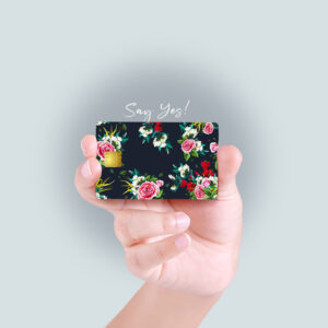 Floral Debit/Credit Card Skin