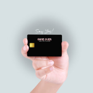Game Over Debit/Credit Card Skin