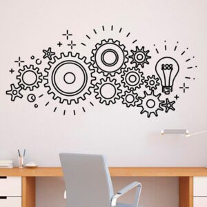 Office Idea Wall Decal