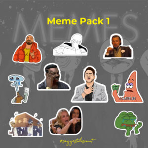 Meme Stickers Pack