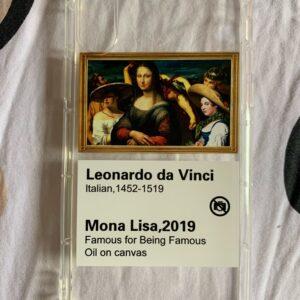 Mona Lisa Funny Edition Mobile Cover