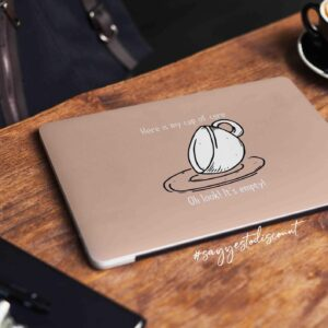 Cup of Care Laptop Skin