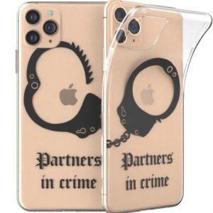 Partner in Crime Couple Friends Mobile Covers