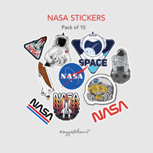 Nasa Stickers Pack