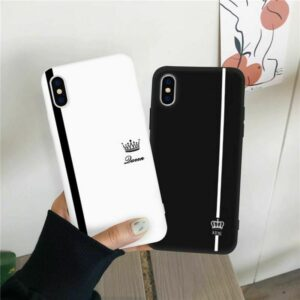 Couple Design King Queen Mobile Covers