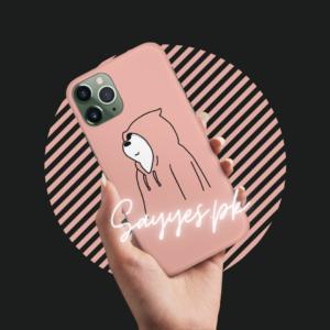 Bare Bear Mobile Cover