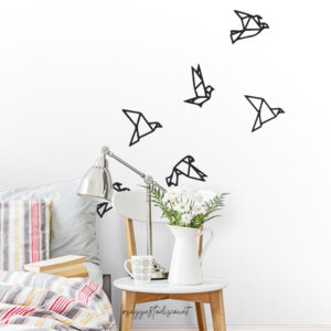 Birds Flying Wall Decal