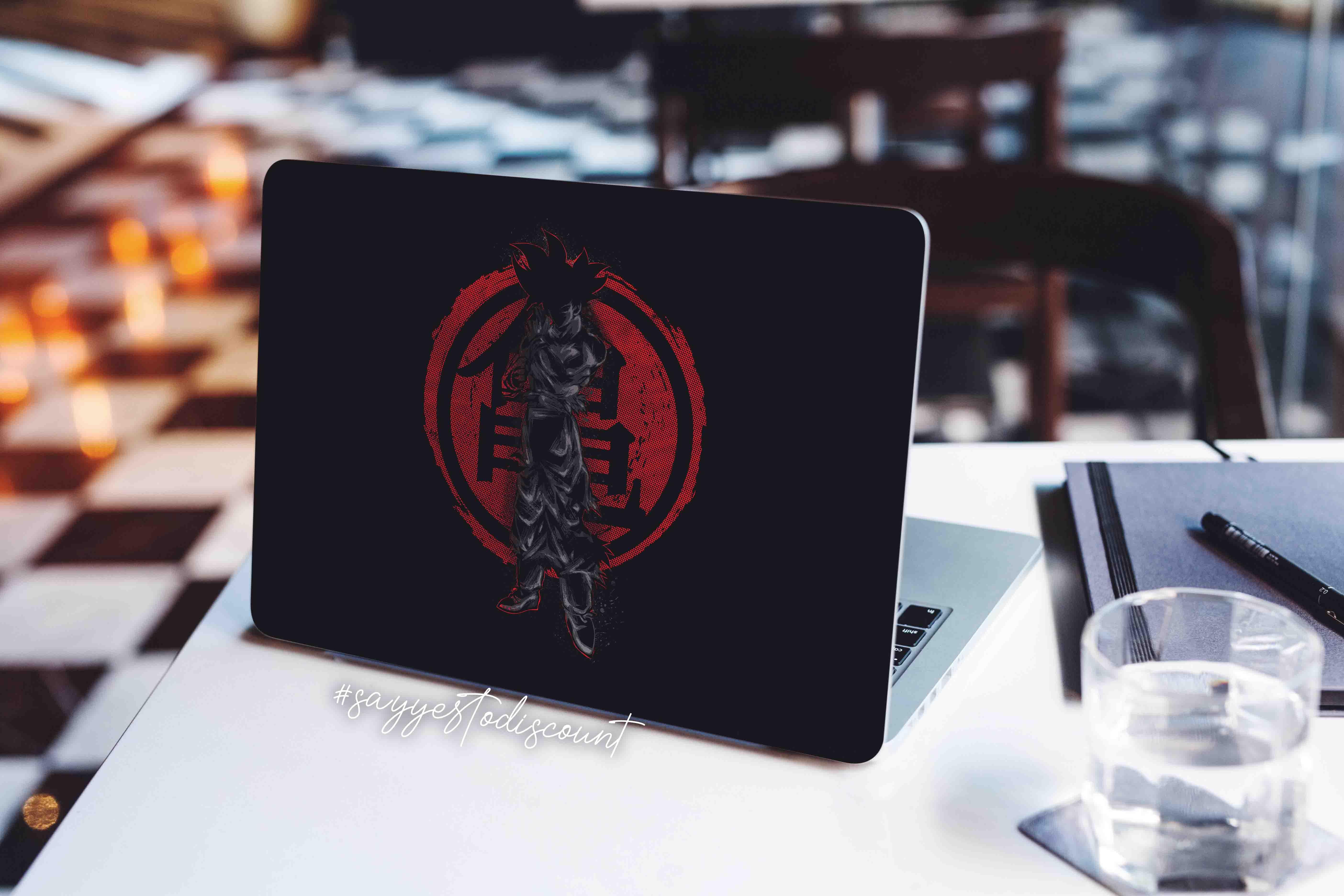 Bon Kakarot Laptop Skin