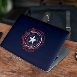 Captain America Laptop Skin