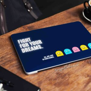 Fight your Dreams Laptop Skin
