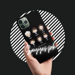 Friends Chibi Design Mobile Cover