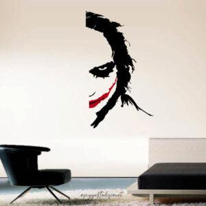 Joker Face Wall Decal