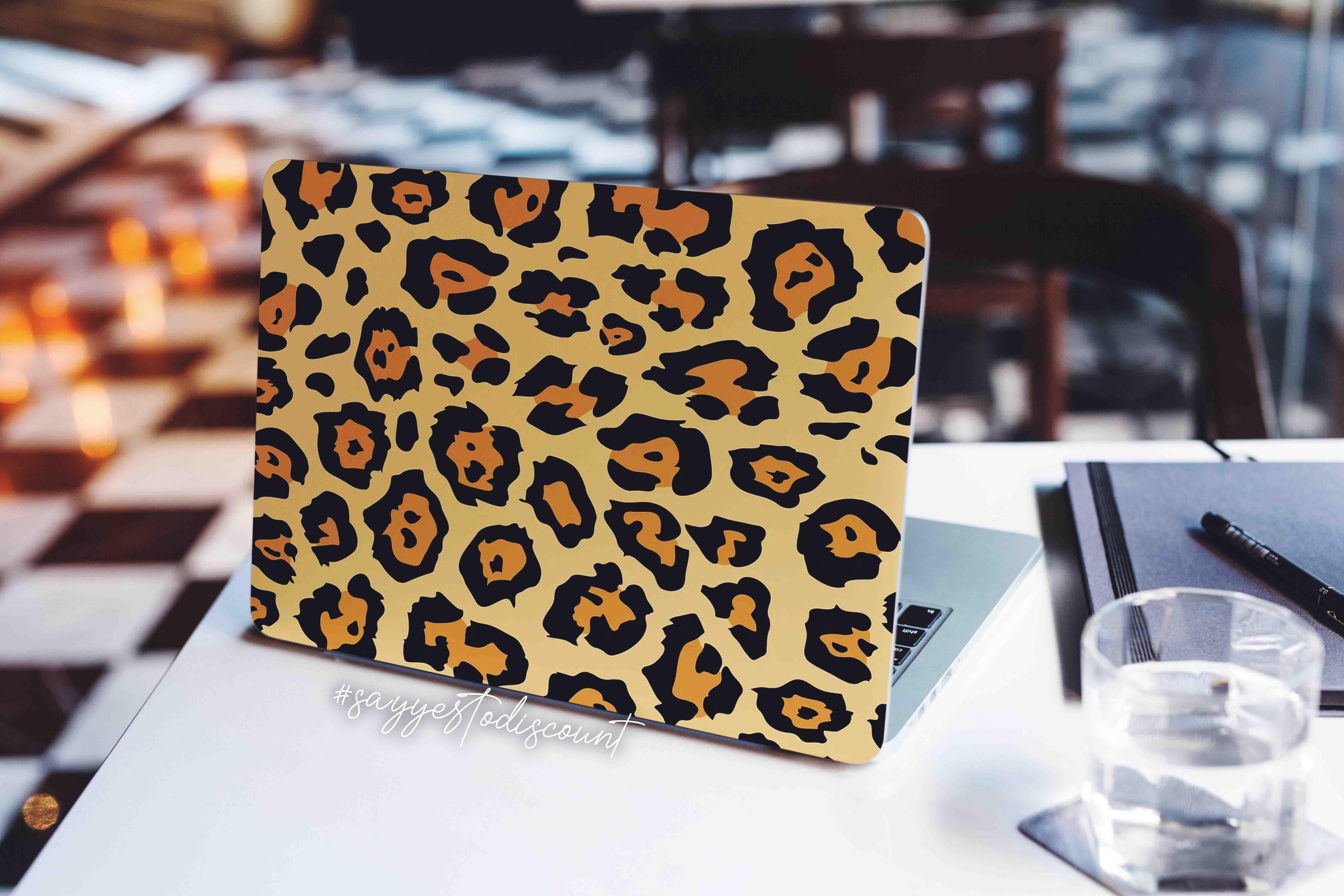 Cheetah Print Laptop Skin