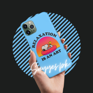 Relaxation is an Art Mobile Cover