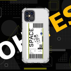 Nasa Space Ticket Mobile Cover