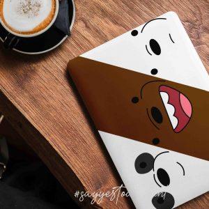 Bare Bears Laptop Skin