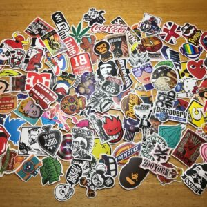 Pack of 100 Mix Stickers