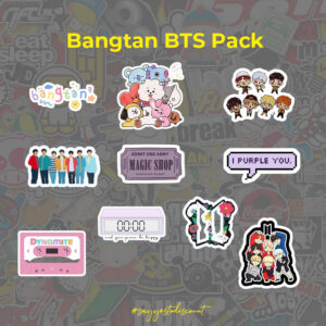 Bangtan BTS Stickers Pack