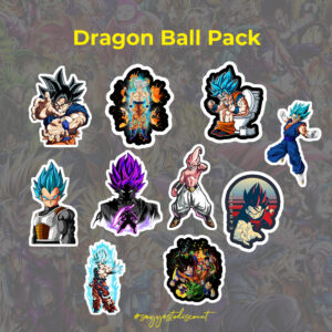 Dragon Ball Stickers Pack