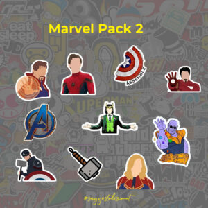 Marvel Stickers Pack