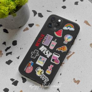 Sticker Bombing Design Mobile Cover