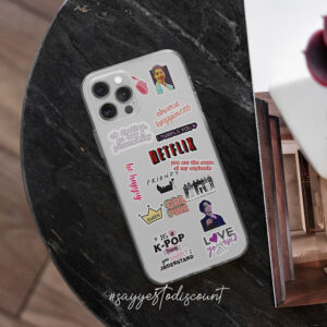 BTS KPOP Sticker Printed Mobile Cover